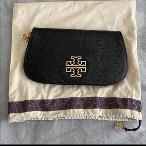 Tory Burch clutch with detachable strap